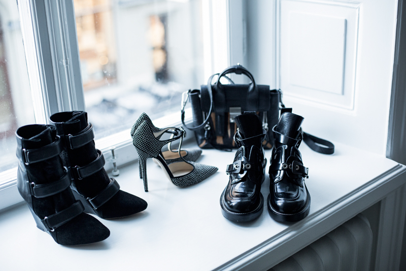 Balenciaga buckle boots for sale