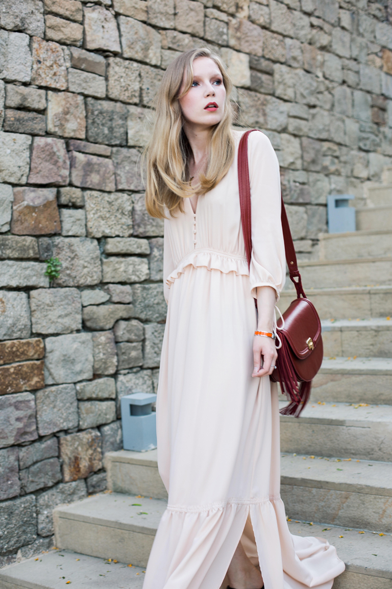 Carolina Engman, Pale Pink Mango dress
