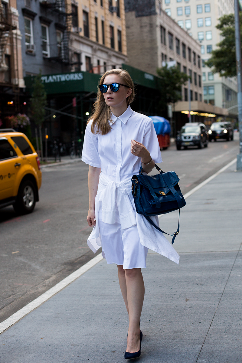 Emerson Fry Shirt Dress (via fashionsquad.com)
