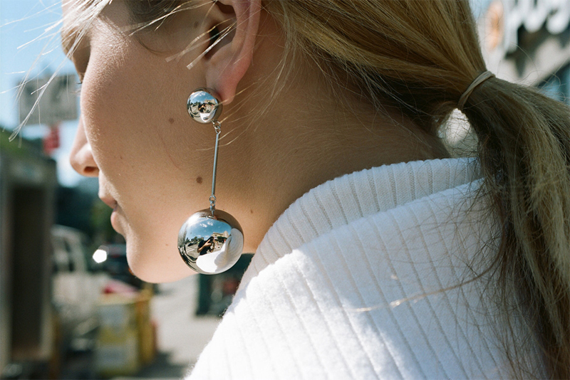 JW Anderson Sphere Earrings