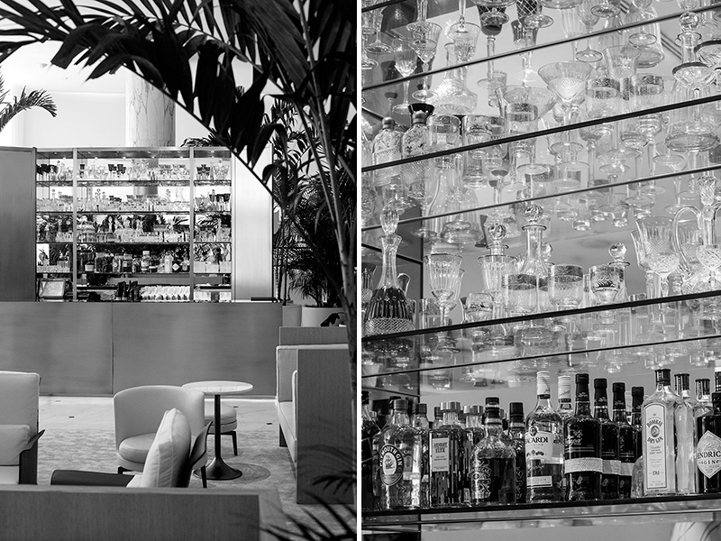 The dreamy bar at the Miami Beach EDITION hotel