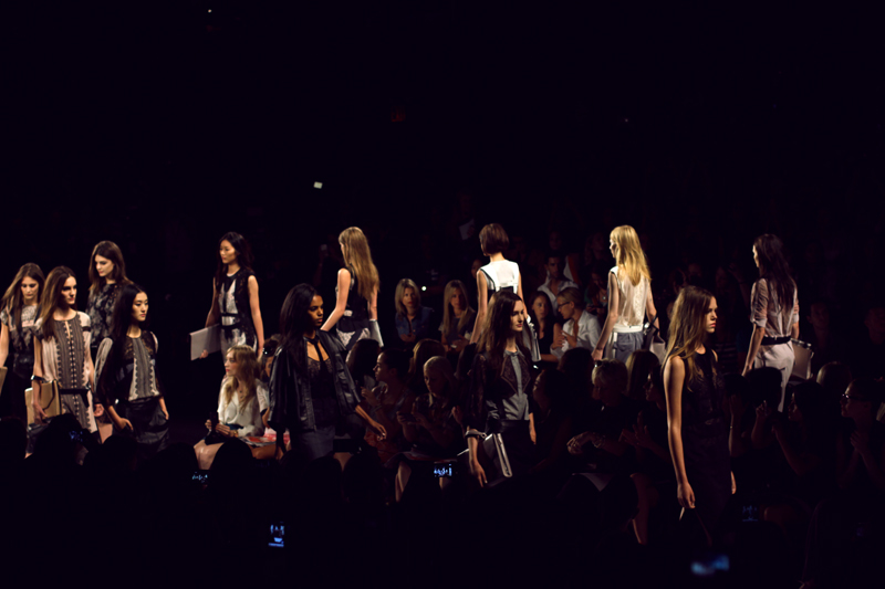 bcbg max azria spring 2013 finale new york fashion week