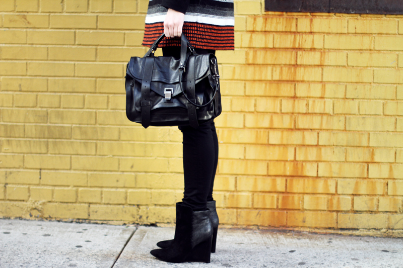 belle by sigerson morrison, wedge boots, proenza schouler ps1 black, new york