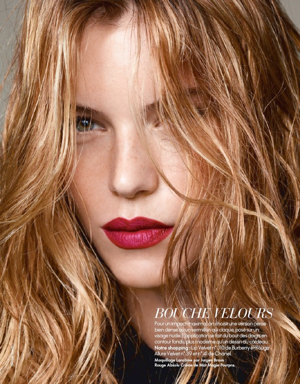 bold lips, naked eyes, makeup, beauty, spring 2013