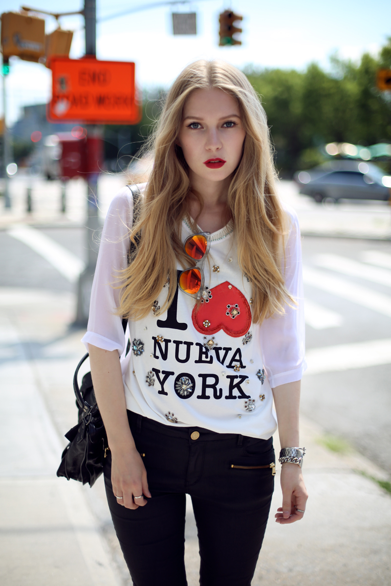 carolina engman 3.1 phillip lim I love new york top