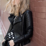 New in: IRO leather jacket