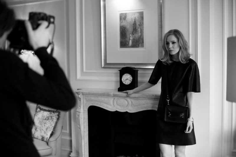 Carolina Engman - Harrods of London shoot