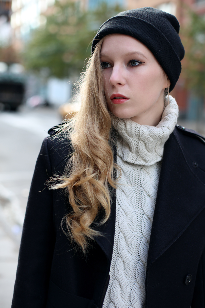 carolina engman black beanie