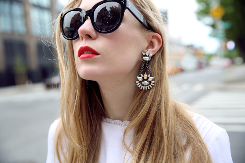carolina engman - elizabeth cole earrings