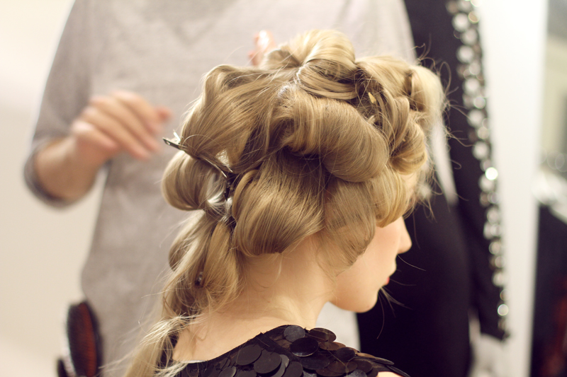 carolina engman, hair, backstage