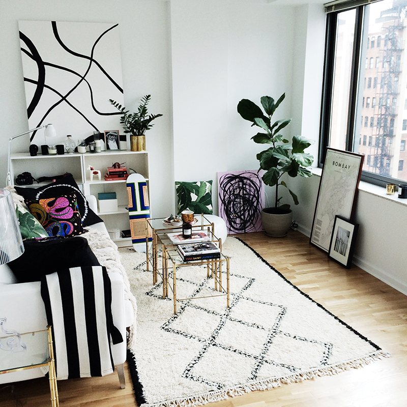 Carolina Engman's nyc home (via fashionsquad.com)