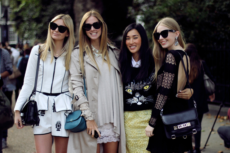 carolina engman, jessica stein, chiara ferragni, nicole warne, the blonde salad, tuula vintage, garypeppergirl, fashionsquad