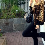 leopard print jacket