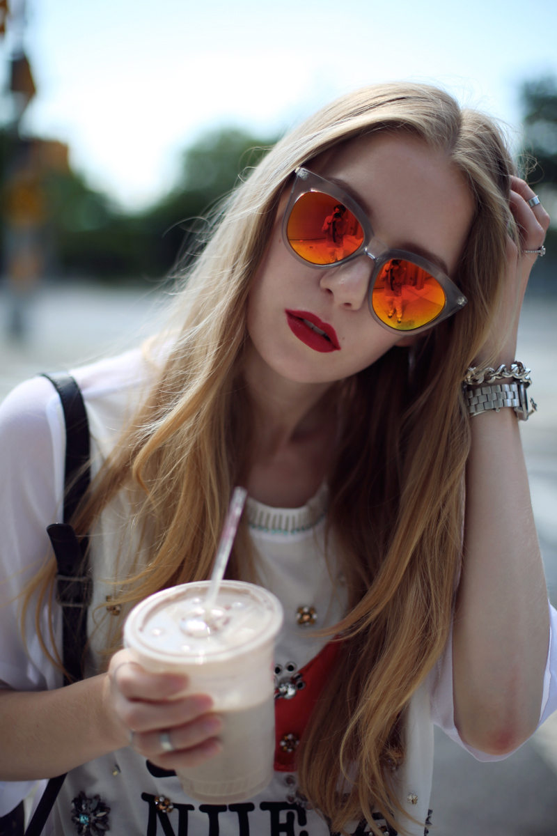 carolina engman le specs half moon sunnies