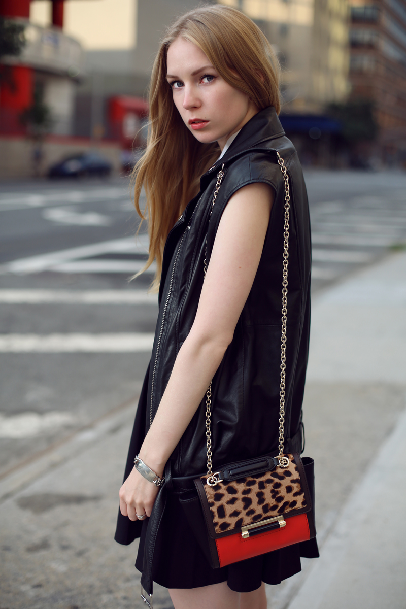 carolina engman leather vest