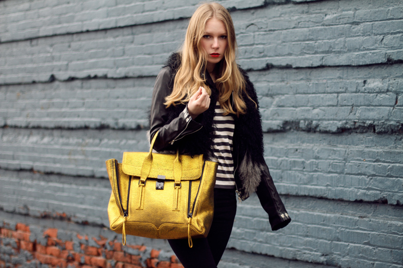 carolina engman, phillip lim pashli satchel, new york, outfit