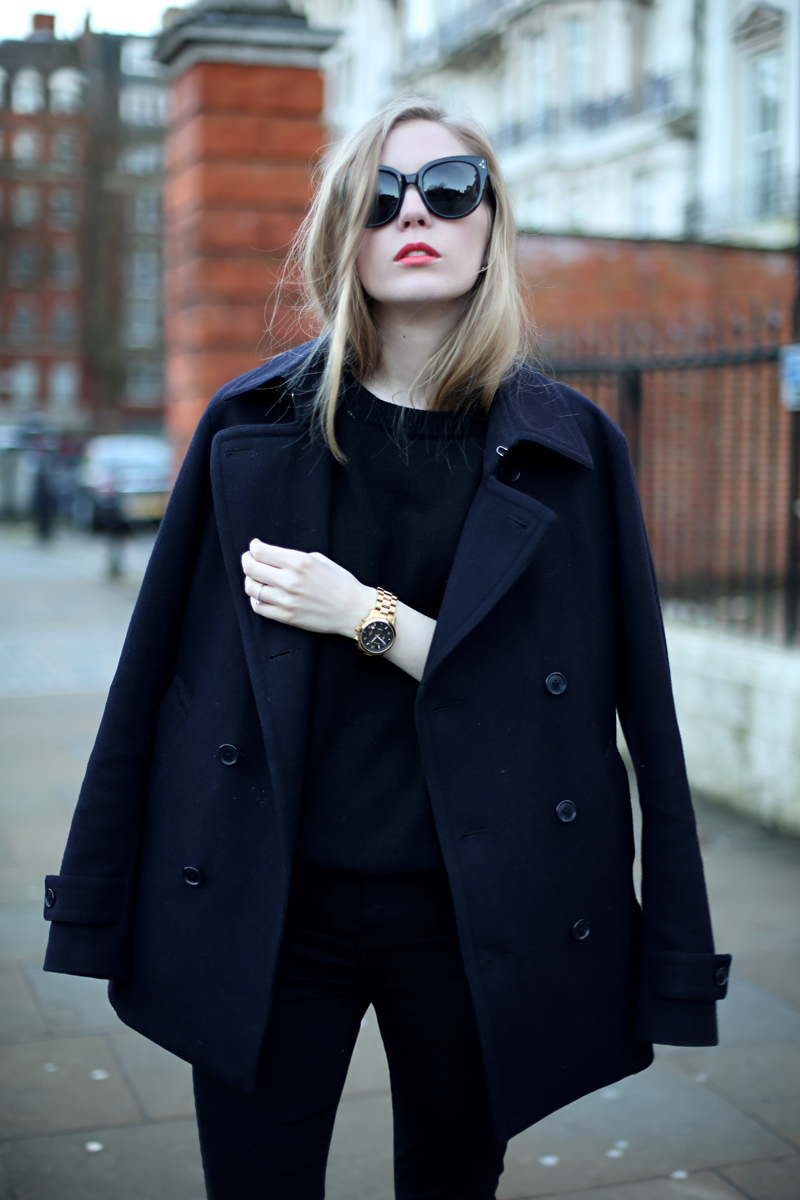 carolina engman peacoat via fashionsquad.com