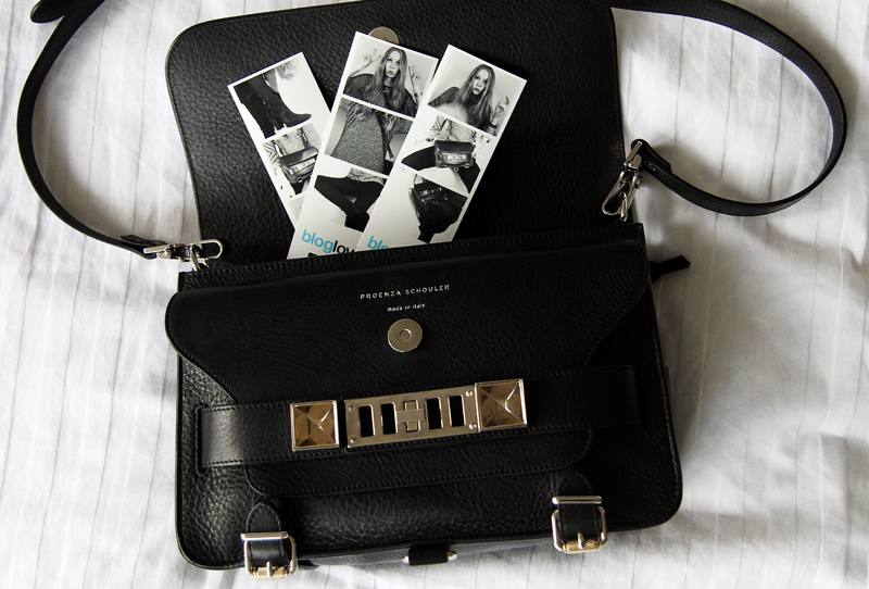 carolina engman, fashionsquad, photobooth, proenza schouler ps1 bag, look of the day