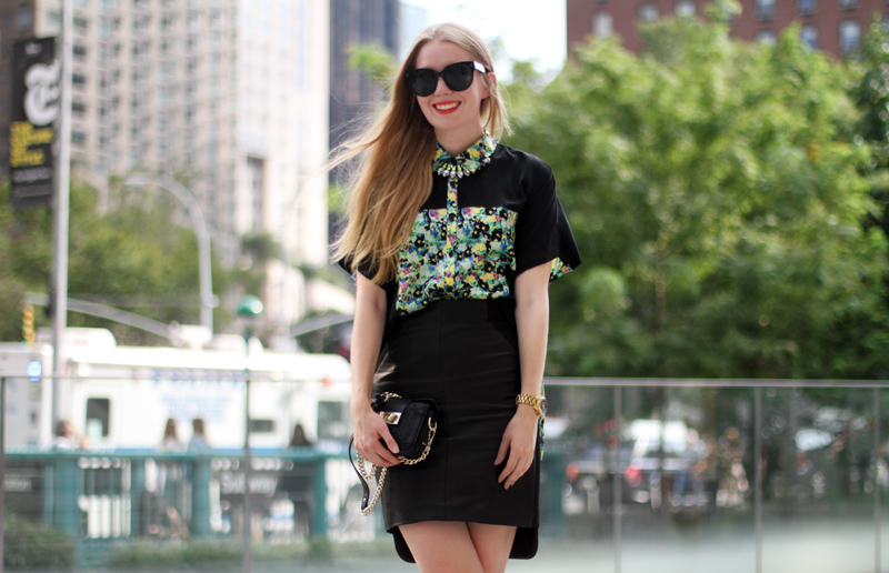 carolina engman, rebecca minkoff ss13 look, outfit, fashionsquad