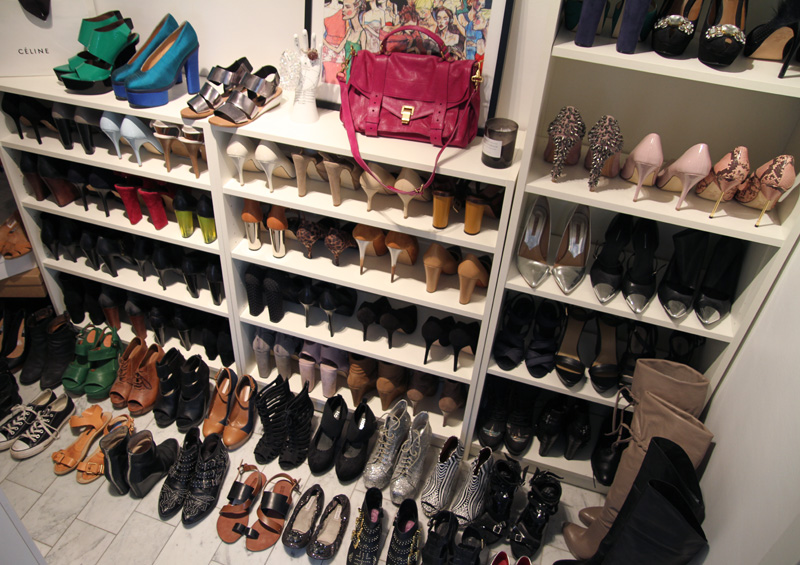 carolina engman, shoes, shoe collection, shoe closet, shoe shelf, shoe wardrobe, shoe shelves, omg shoes