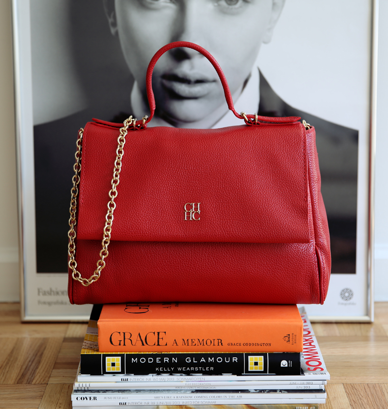 carolina herrera bag via fashionsquad.com