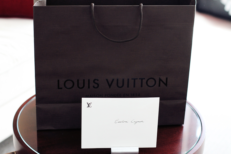 Louis Vuitton, invite, shopping bag, paris