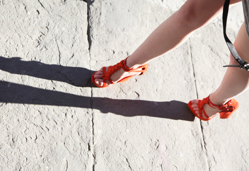 orange casadei heels, fashionsquad
