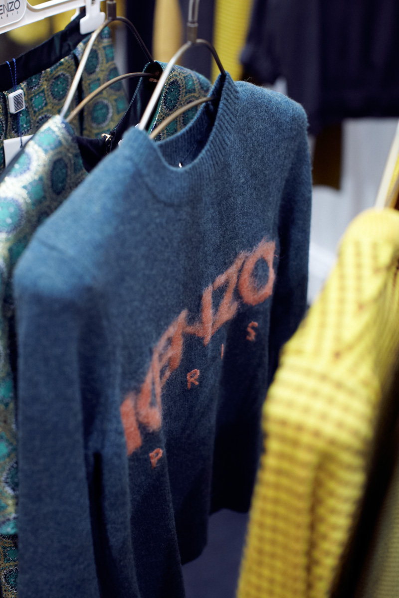 kenzo sweater, london, store