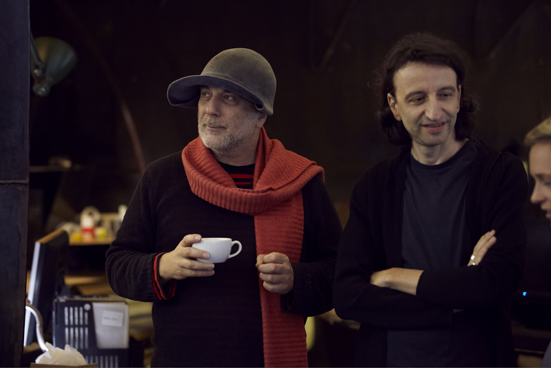 ron arad, Patrick Guedj, madly kenzo, london, studio,