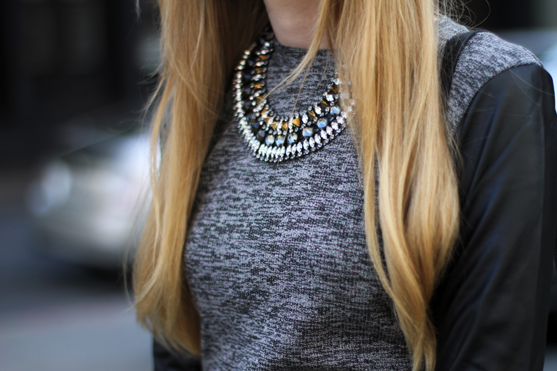juicy couture, statement necklace