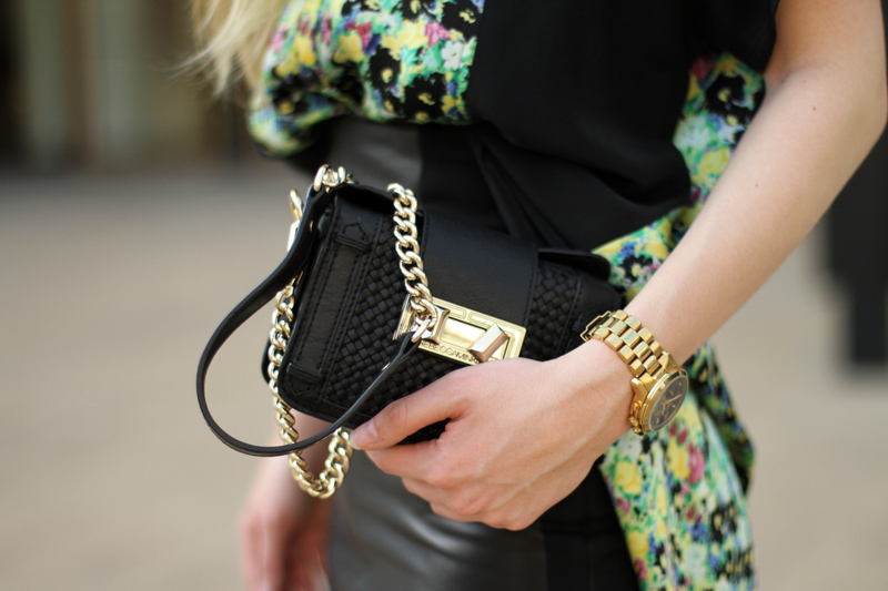 carolina engman, fashionsquad, rebecca minkoff, ss13, carvela, celine sunglasses, michael kors gold watch, nyfw, streetstyle