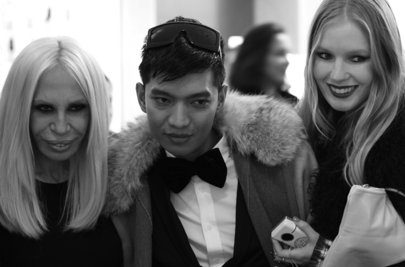 Donatella Versace, Bryan Boy, Carolina Engman