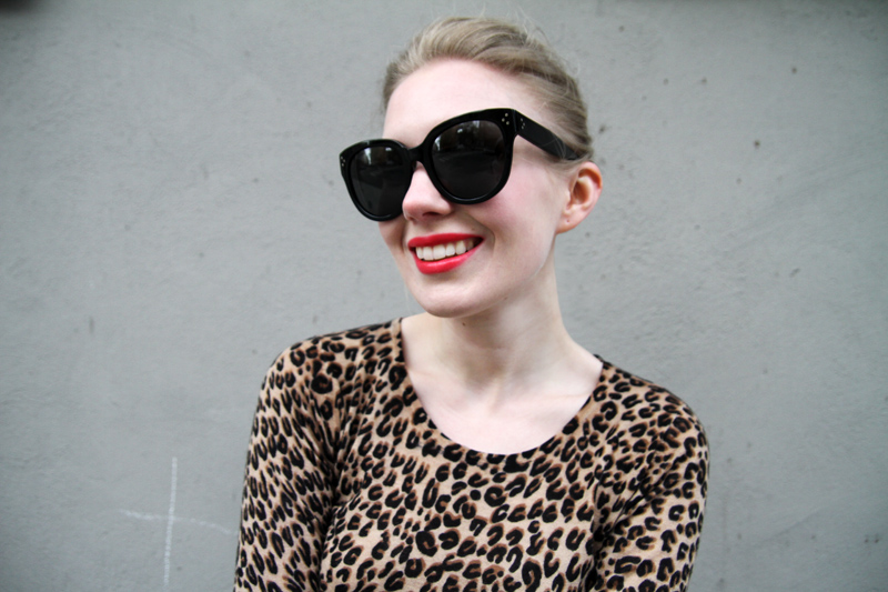 Lusting Over: Large Audrey Celine Sunglasses