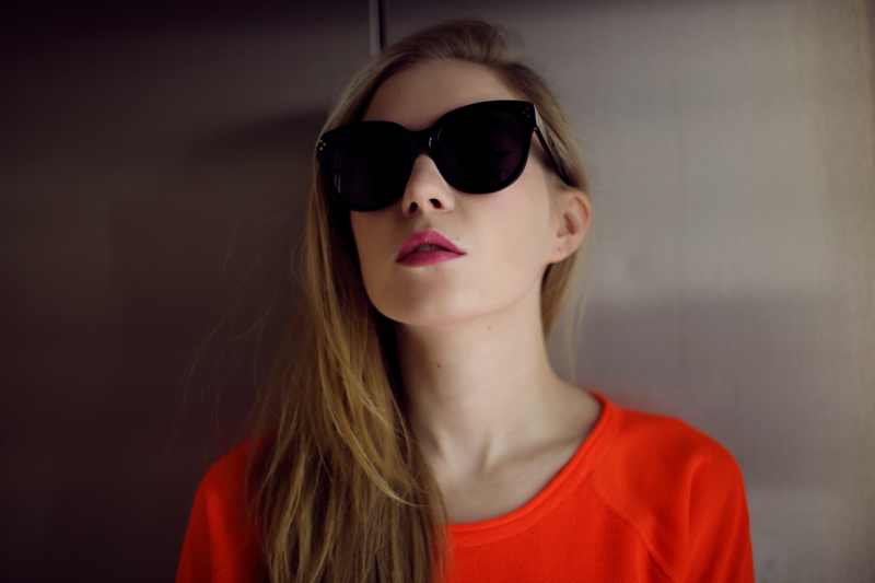 carolina engman, celine audrey sunglasses, dagmar sweater