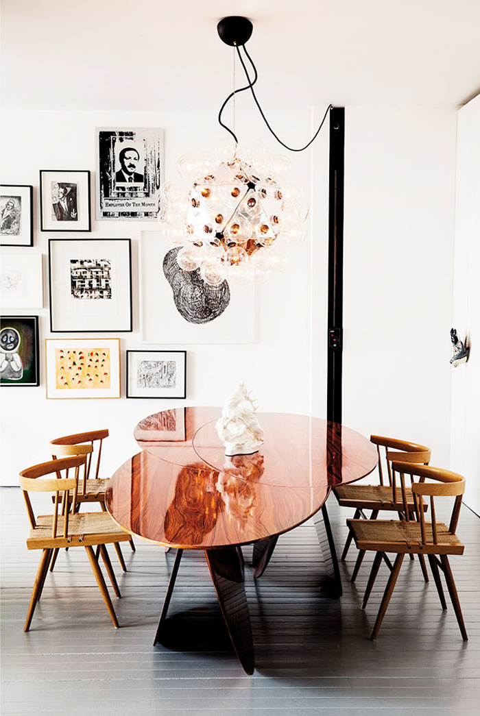 copper table via fashionsquad.com