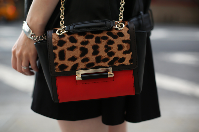 dvf 440 mini leopard bag