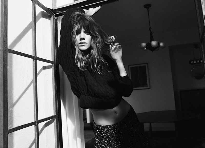 zara fall 2012, freja beha, zara campaign video, a/w 12