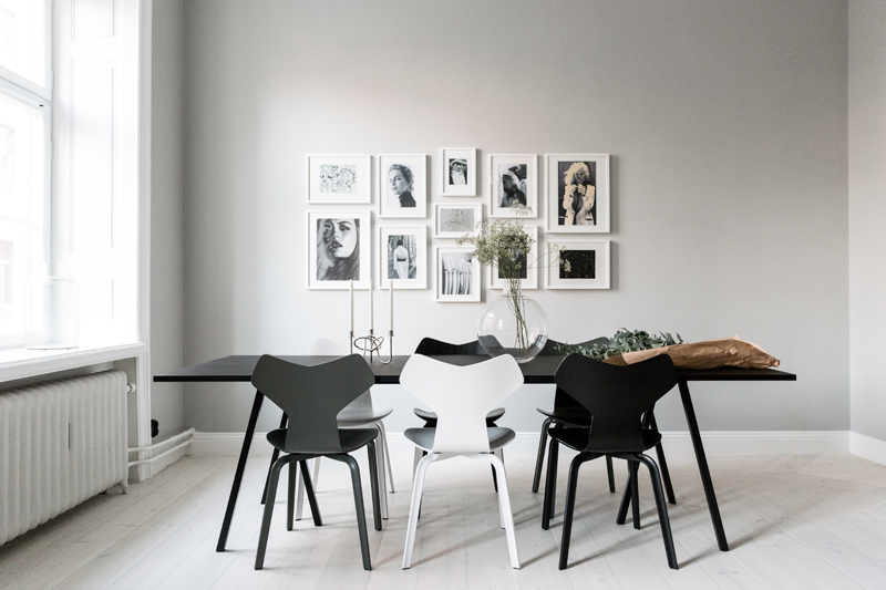 Fritz Hansen Grand Prix Chairs