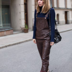 Leather Dungarees