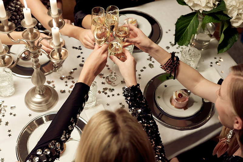 new years eve, dinner, party, gina tricot