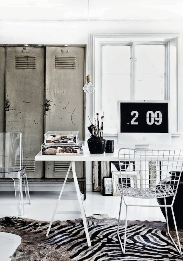 home office inspiration via fashionsquad.com