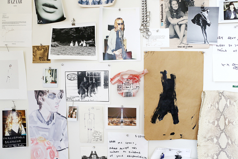 Jenna Lyons Office via (fashionsquad.com)