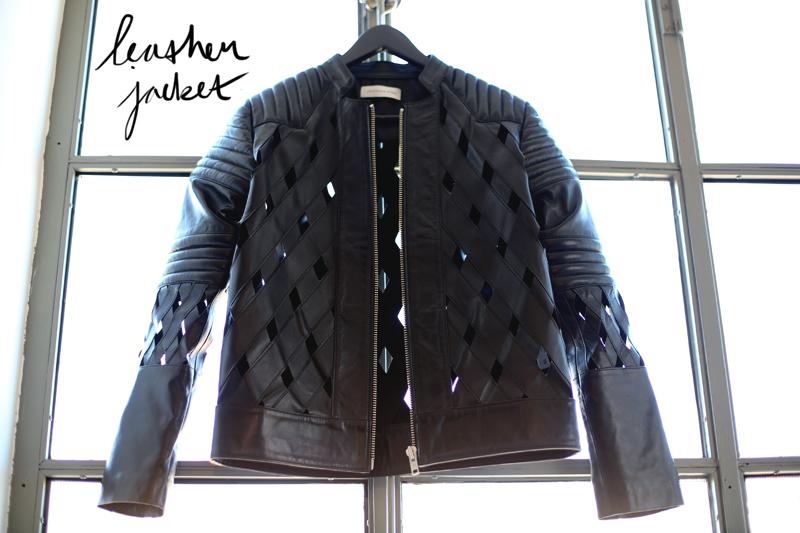johanna pihl, leather jacket,