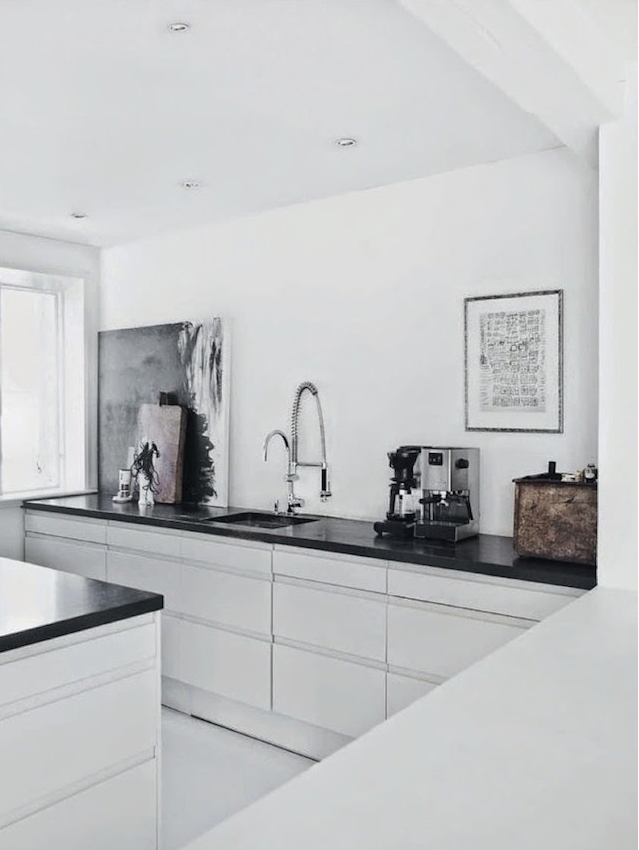 minimalistic kitchen via fashionsquad.com