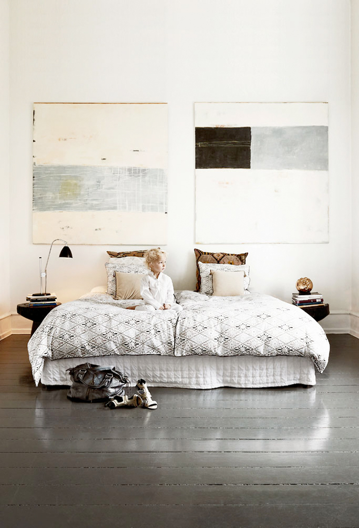 naja munthe bedroom via fashionsquad