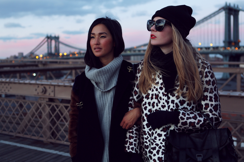 carolina engman, nicole warne, garypeppergirl, brooklyn bridge, I love new york, fashionsquad, marc jacobs, proenza schouler,