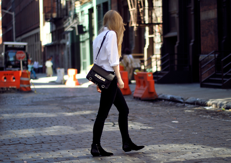 carolina engman, j brand jeans, sigerson morrison shoes, proenza schouler ps11 bag