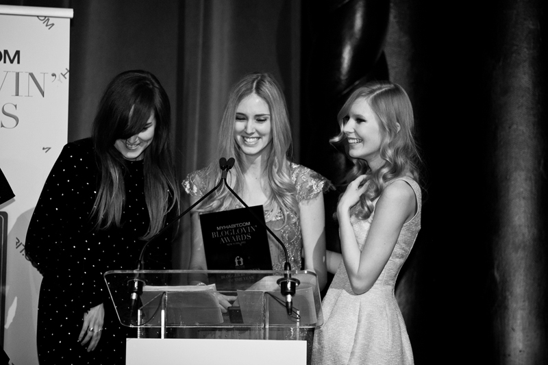 bloglovin awards, andy torres, chiara ferragni, carolina engman, award, werelse