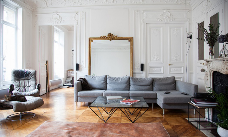 a dreamy Parisian apartment