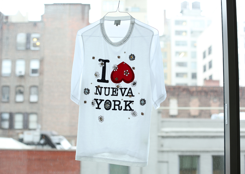 phillip lim I love nueva york tshirt